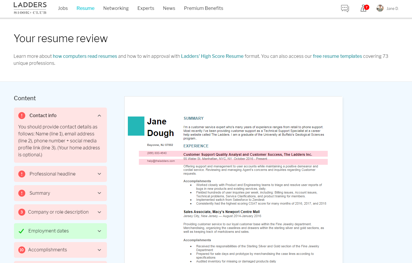 Post resume on the ladders custom phd best essay assistance